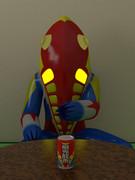 【邂逅】お茶を勧めてくる宇宙人