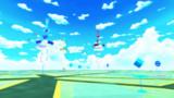 St.10 夏空スカイドーム(アニメ風)