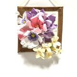 ☆折り紙☆花の壁飾り その2☆