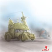 装輪式MS「陸戦型ゲルググ・MSGT-14」
