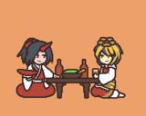 仏代理達の飲み会