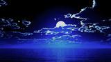 【MMDステージ配布】ファンタジーな月夜 TR4【スカイドーム】