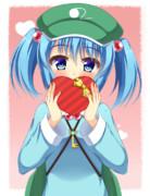 にとりちゃんの大遅刻バレンタインチョコ!