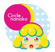 正円だけでナナコちゃん描いた