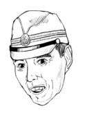 【ワンドロ】謎の軍服コスおじさん「大和爺」氏