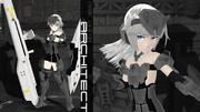 【モデル配布】FA:G アーキテクト Ver1【MMD】