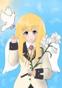 天真=ガヴリール=ホワイト 天使度約98%【ガヴリールドロップアウト】