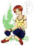 ゲーム実況者『シママ』さんを描いてみた。