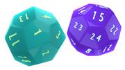 24面ダイス2「五角二十四面体」
