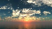 【MMDステージ配布】彩り鮮やかな夕焼け TR5【スカイドーム】