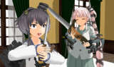 伍長式二式銃剣 ver1.01 MMDモデル配布