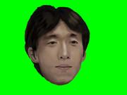 「waifu2x」で『厚塗り石川の後ろ』を(勝手に)高画質化&GBにしてみた【色彩補正版】