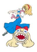 悪いアリス(立ち絵)
