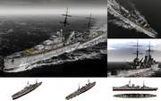 MMD用モブ軽巡洋艦1939(モブジャックス)セット