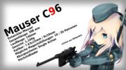 艦娘による銃器紹介 #1「モーゼルC96」