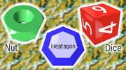 NHD (Nut, Heptagon, Dice)