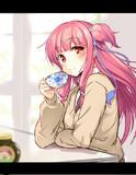 紅茶と茜ちゃん