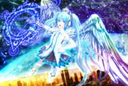 銀獅式初音ミクKing's magic_ver1.00 モデル配布