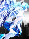 【MMDモデル配布】銀獅式ミクKing's magic!【代理】