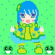 ゲームボーイ風ツユハちゃん   ※完成版