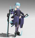 【配布】FA:G フレズヴェルク【MMDモデル】