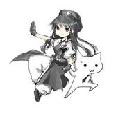 白黒スタイリッシュ