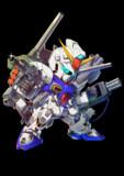 ガンダムF90(A.D.S.混合装着時)(SD)