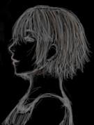 横顔の下手さに定評のある私が横顔を描くと