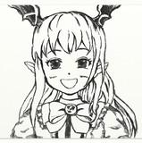 ヴァンピィちゃん描いた