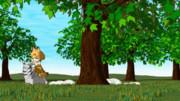 【GIFアニメ】サーバルちゃんとサバンナシマオオナメクジ