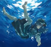 水中にとり