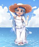 五月雨ちゃんと海水浴