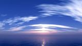 【MMDステージ配布】流線状の雲 TR7【スカイドーム】