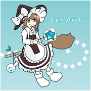 ホワイトデー魔理沙