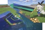 島風にクリスタルソードを持たせてみた。 #Minecraft #JoitBlock #艦これ