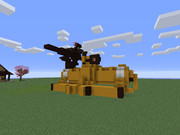 [Minecraft] ドラム缶の化物