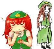 カス☆の序盤でミカン食べてる人の透過素材