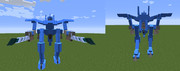 【minecraft】JointBlockオリメカ・二機目1/3【可変機】