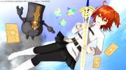 【Fate/MMD】空の上から【アーサー王〔プロト〕祈願マラソン延長戦】