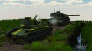 九七式中戦車と五式中戦車