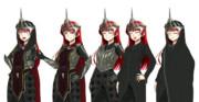 東豪寺麗華さんは鉄冠の魔王。(立ち絵改変)