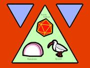 TIKI (Triangle, Icosahedron, Kamaboko, Ibisbill)