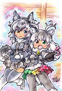 【けものフレンズ】狼さんとトナカイちゃん