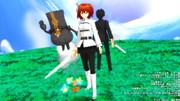 【Fate/MMD】対比【アーサー王〔プロト〕祈願マラソン延長戦】