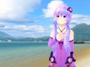 【MMD】海辺で佇むゆかりさん