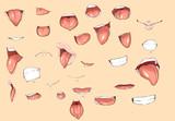 習作 口と舌