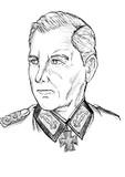 ドイツ第12軍司令官ヴァルター・ヴェンク装甲兵大将