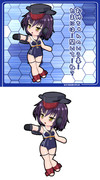 巡潜甲型改二潜水空母1番艦 伊13
