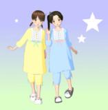 【MMD艦これ】パジャマ【衣装セット配布】