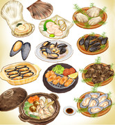 貝料理セットver1.0